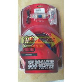 Kit De Instalacion Amplificador Calibre 8 900w Hf Audio