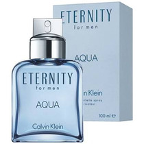Perfume Masculino Eternity Aqua 100 Ml Original E Lacrado