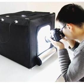 Estudio Fotografico Portatil 45 X 45 Cm Foto Fundo Branco