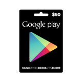 Google Play Gift Card $50 Usd Tarjeta Juego
