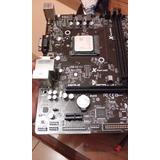 Placa Am1 Con Micro Y Memoria