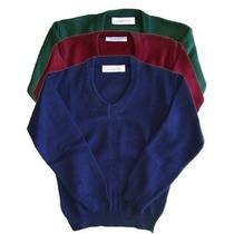 Sweater Colegial Todos Los Colores - Talles De Niño
