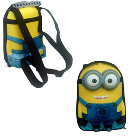 Merendeira Infantil Minions 3d Max Toy