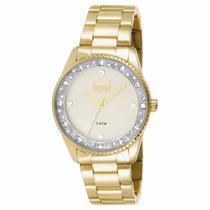 Relógio Dumont Feminino Du2035lql/4x Analógico Dourado