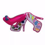 Estojo Maquiagem Infantil Sapato Frozen Barbie Miraculous