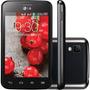 Lg Optimus L4 Ii Dual Tv E467 Preto Android 4.1 3g I Vitrine