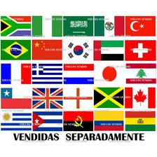 Bandeira Países Bandeiras Poliester 1,50 X 90cm Diversos