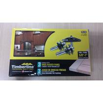 Kit De 3 Brocas Timberline 1/2 Para Madera Para Ensamble