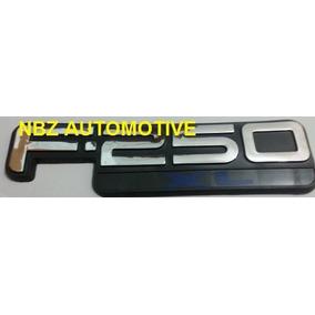 Emblema Ford F250 Xl (pick Up) Cromado - Nbz Automotive