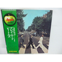 The Beatles Abbey Road Vinilo Japones C/obi