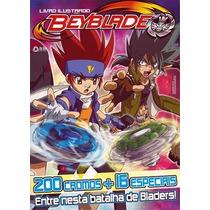 Lote 50 Figurinhas Beyblade 2012