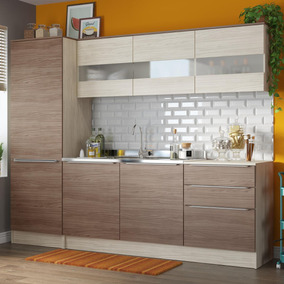 Cozinha Compacta Paris 240 (não Acompanha Pia, Torneira E