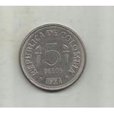 Colombia 5 Pesos 1971 Juegos Panamericanos Cali