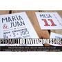 Tarjetas Invitaciones Casamientos / Cumple / 15 Años $4,95