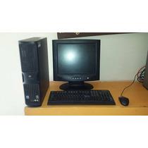 Paquete Ciber 4 Computadoras 2gb Ddr2 80gb Disco Lcd 15