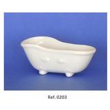 Miniatura De Porcelana - Mini Banheira Gde. - Caixa 50 Unids