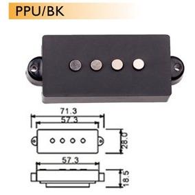Dr Parts Ppu/bk Pastilla P/ Bajo Electrico (2 Piezas)