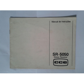 Manual Original Receiver Cce Sr 5050