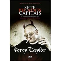 Sete Pecados Capitais Livro Corey Taylor Slipknot Stone Sour
