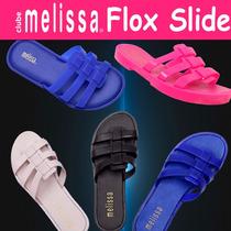 Kit 10 Sandalia Chinelo Melissa Flox Slide Feminina