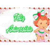 Moranguinho Baby Papel De Arroz Para Bolo 20 X 30 Cm