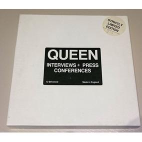 Box Queen Interview + Press Conferences Limitado E Numerado