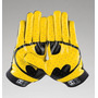 Guantes Football Americano De Batman Under Armour F4 Nuevos