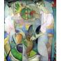 Lienzo Tela La Mujer En El Pozo Diego Rivera 1913 58 X 50 Cm
