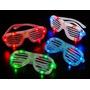 Anteojos Gafas Flogger Luminosos Led Cotillon Fiesta X10!!!