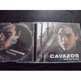 Cd David Cavazos, Que No Daria, Sencillo, Envio Gratis