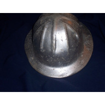 Antiguo Casco De Aluminio Mineria Petroleo Ypf.
