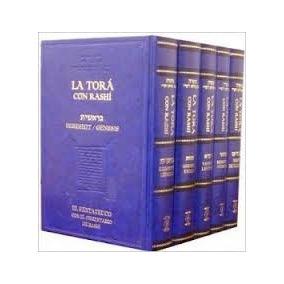 Tora Con Rashi, Pentateuco, Biblia, Judio, Judaismo