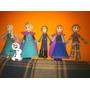Muñecas Elsa Y Anna De Frozen En Foami Fofucha