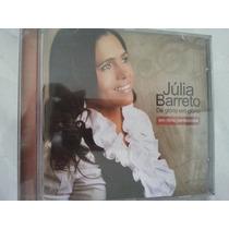 Cd Julia Barreto En Ritmo Petencostal