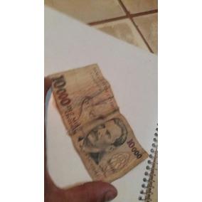 Nota Antiga De 10.000 Cruzeiros