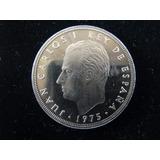 17.1 G Cupro-níquel Proof Moeda 100 Pesetas Espanha 1975