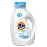 Tide Free Y Suave De Alta Eficiencia Sin Perfume Detergente