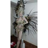 Traje Carnaval Fantasia Comparsa