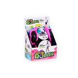 Roller Patins Infantil Easy Roller Com Led Nas Rodas Rosa