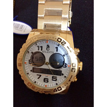 Relógio Atlantis A3228 Rip Curl Dourado