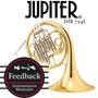 Jupiter Jhr 754l - Corno Bb, Valvulas Fosforadas C/ Estuche