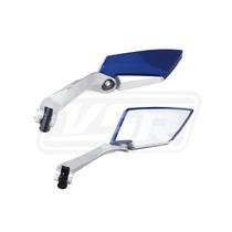 Espelho Retrovisor Esportivo Moto Azul Koso Kasinski Crz 125