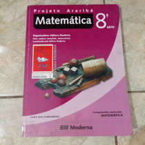 Livro Projeto Araribá Matemática 8a. Série 2006