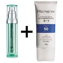 Renew Clinical Sérum + Renew Protetor Multibenefícios 3 Em 1