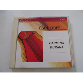 Cd Carl Orff Carmina Burana Original Y Como Espejo