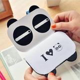 Mini Libreta Panda Y Mini Pack De 6 Resaltadores