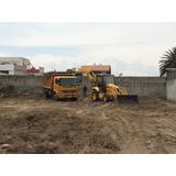 Desbanques, Excavaciones, Limpieza De Terrenos, Desalojos