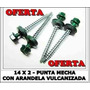 Tornillo Autoperforante Hexagonal Puntamecha 14x2 X 1000 Uni