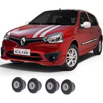 4 Bucha De Bandeja Balança Renault Clio 99...