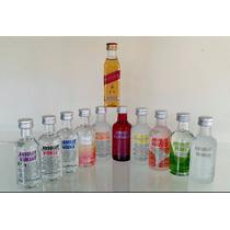 Mini Vodka Absolut 50ml - Kit 10 Sabores - Ganhe Red Label